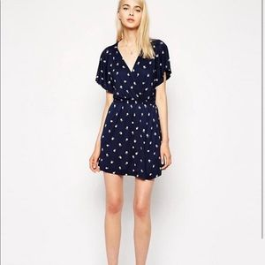 French connection fanfare dress in daisy print
